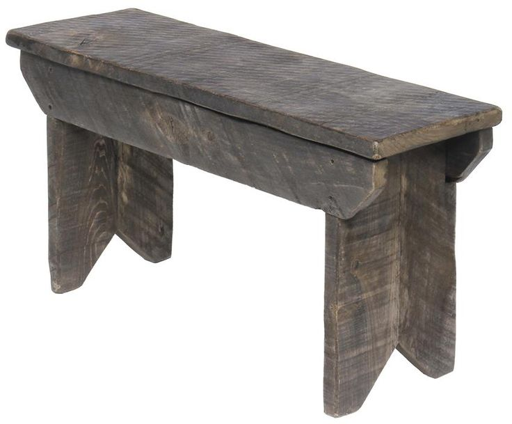 Amish Rustic Bench with Storage