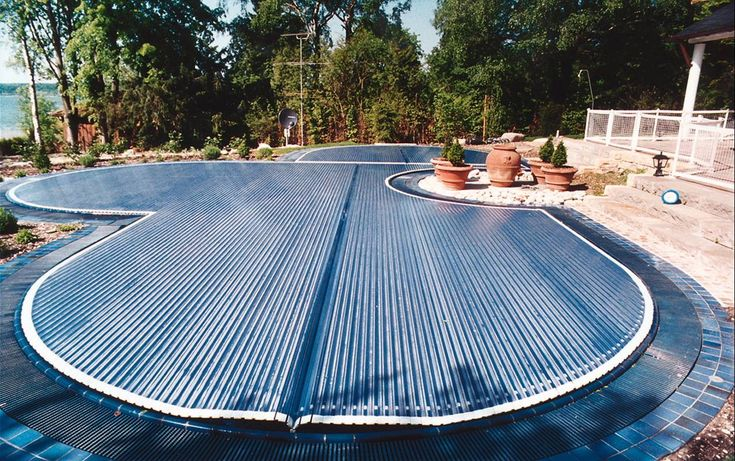 Free Form Automatic Rigid Slated Pool Cover Covertech