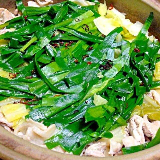 男子ごはんのレシピ✨ - 33件のもぐもぐ - 豚バラ肉とキャベツの塩ニンニク鍋 by marukome12