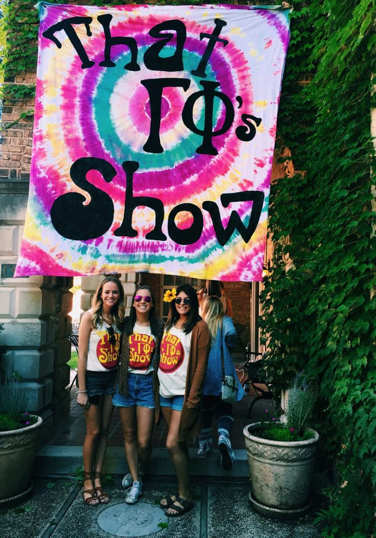 That 70's Show themed bid day #gammaphibeta                                                                                                                                                      More