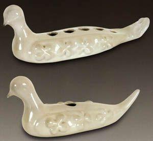 """Füreya Koral, """"Birds"""" porcelain. (Erdinç Bakla archive)"""