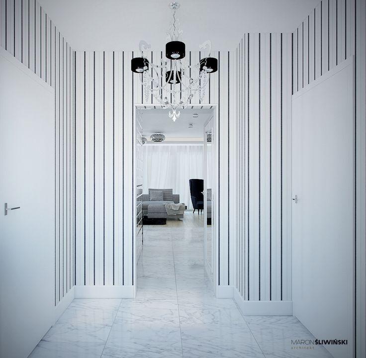 Modern flat - first look ; interior designer,architect Marcin Śliwiński Poland;  Source: https://www.facebook.com/architectmarcinsliwinski?fref=ts