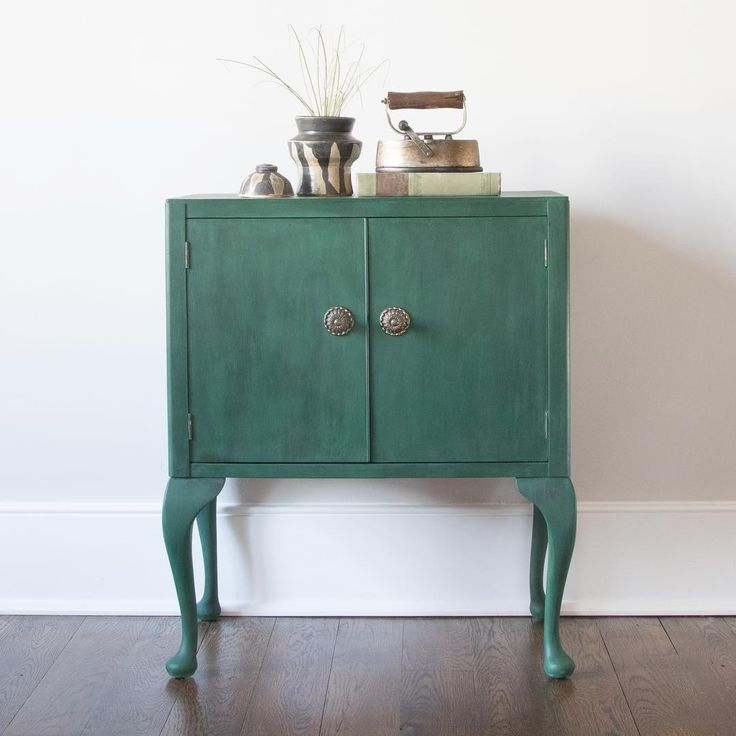 Chalk Paint Kitchen Cabinets Green: 7 Best Annie Sloan Amsterdam Green Images On Pinterest
