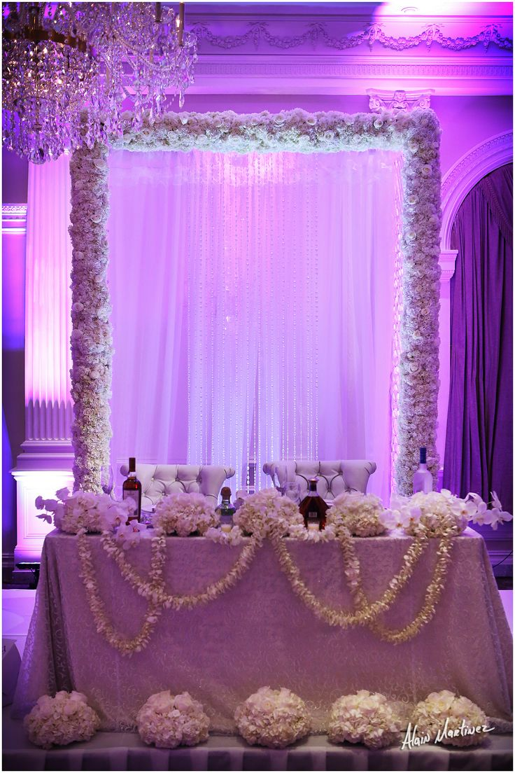 436 Best Images About Sweetheart Table Head Table Ideas On