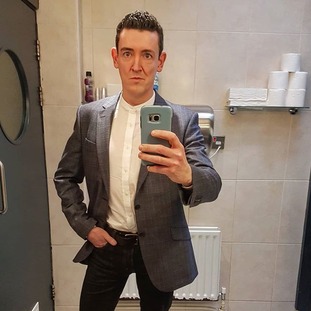 This is what one must resort to when nobody else will take your picture. Anyway loved the jacket and grandad collar shirt together so hence the share. Somebody might take it on as a style tip  . . . #style #selfie #irishblogger #ukblogger #dublin #ireland #mensfashion #fashionmen #menstyle #blogger #sartorial #ootd #ootdmen #outfit #outfitoftheday #instastyle #instagood #menswear #mensweardaily #inspiration #lifestyle #fashiongoals #fashiondiaries #40something #samsung