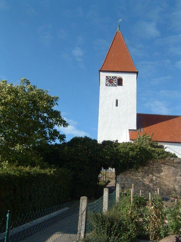 Treuchtlingen-Auernheim am Hahnenkamm, Evan.Luth. Pfarrkirche St. Georg (Weissenburg-Gunzenhausen)