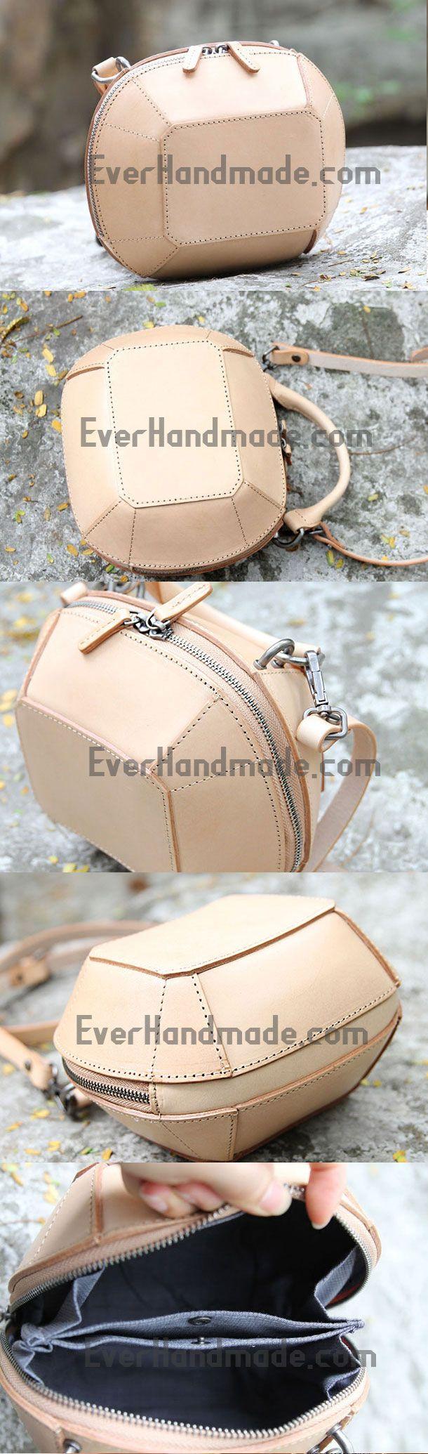 Handmade handbag purse leather crossbody bag purse shoulder bag for