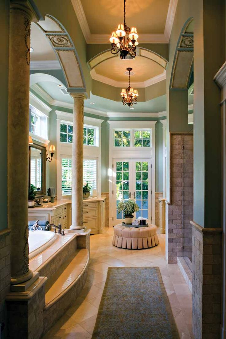 Best 25 luxury master bathrooms ideas on pinterest for Closet bathroom suites