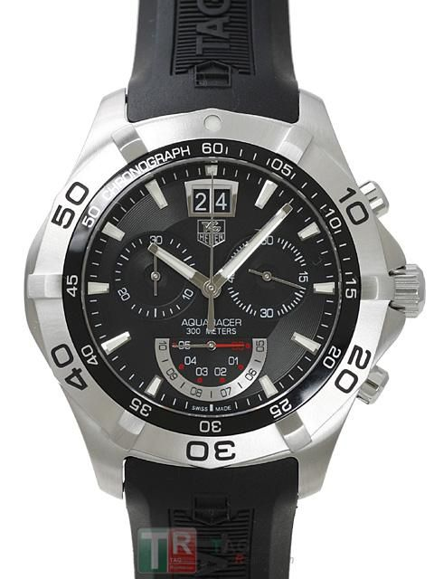 aa464f98a43 TAG Heuer Aquaracer Chronograph Grand Date CAF101A.FT8011