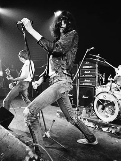 joey ramone -  I gave him my sweater in the 90's. RIP <3