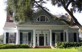 blue-gray house
