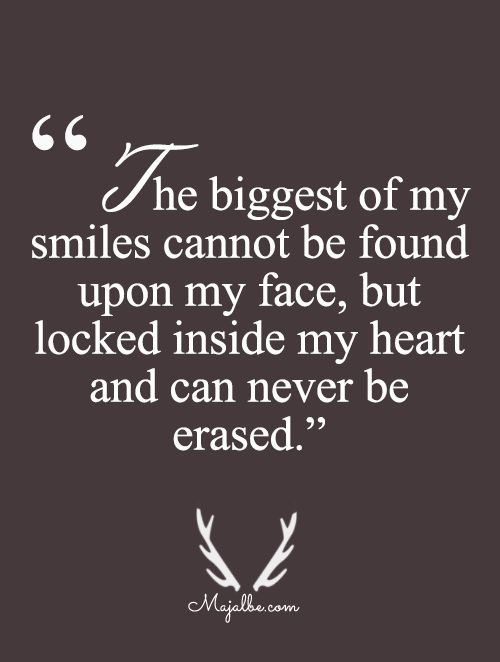 Heart Has The Biggest Smiles Love Quotes Inspirational