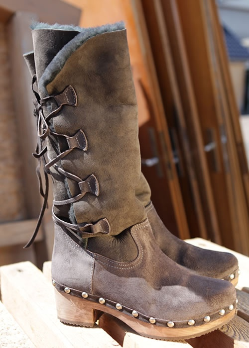 SALE -50% / Clogs-Boots Fell anthrazit: XUZ, Portugal