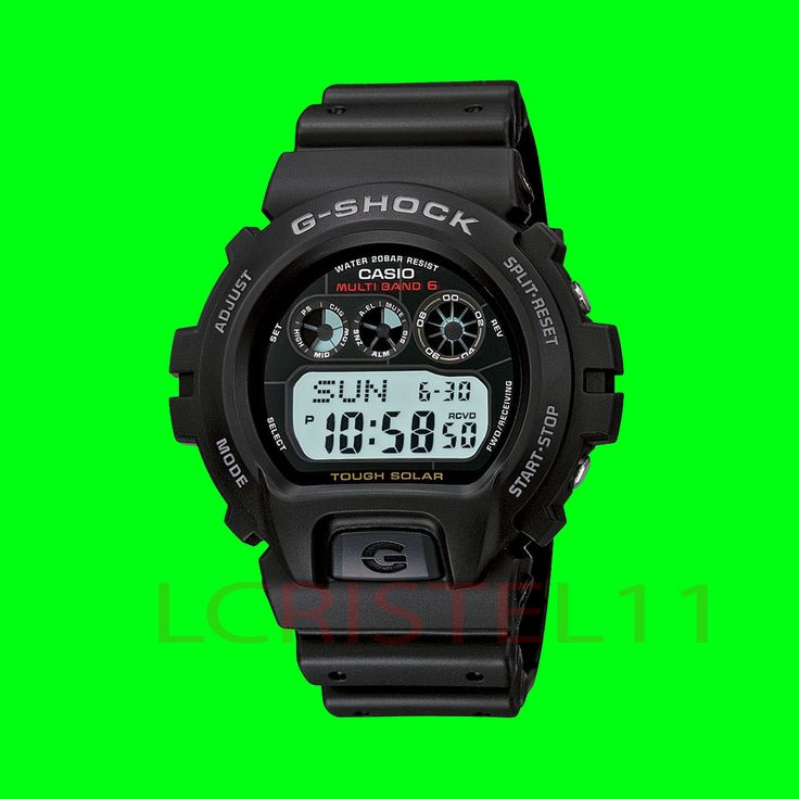 NEW  Casio Mens G-Shock Watch Solar Digital Sport Atomic Chronograph GW6900-1