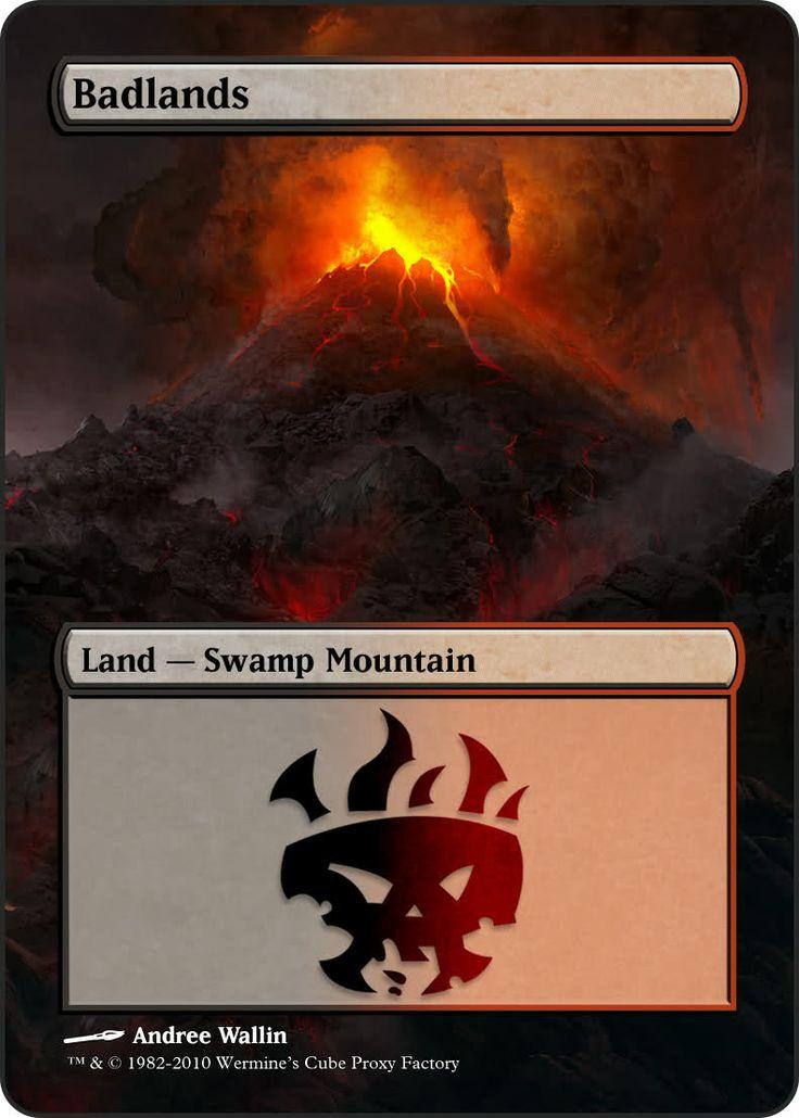 Magic The Gathering Badlands Proxy