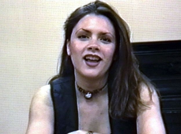 Posh Spice once looked like this. I repeat: This is Victoria Freakin' Beckham. MIND BLOWN.