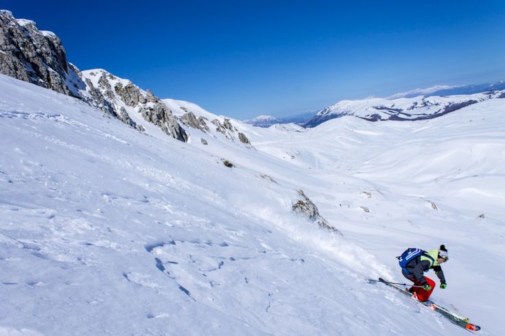 Exploring the Apennine Mountains of #Abruzzo , #Italy . #powdermagazine - 9 January 2013
