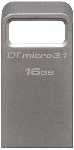 Kingston Technology 16 GB Micro USB 3.1 Gen 1/USB 3.0 Flash Drive DataTraveler - Metallic Kingston DataTraveler Micro 3.1 - USB flash drive - 16 GB (Barcode EAN = 4056572746354). http://www.comparestoreprices.co.uk/january-2017-2/kingston-technology-16-gb-micro-usb-3-1-gen-1-usb-3-0-flash-drive-datatraveler--metallic.asp