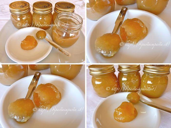 Di pasta impasta: Confettura di mele con zenzero e cannella