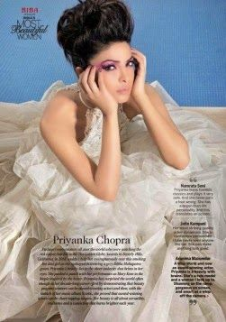 Priyanka Chopra in Femina India January 2015 Issue