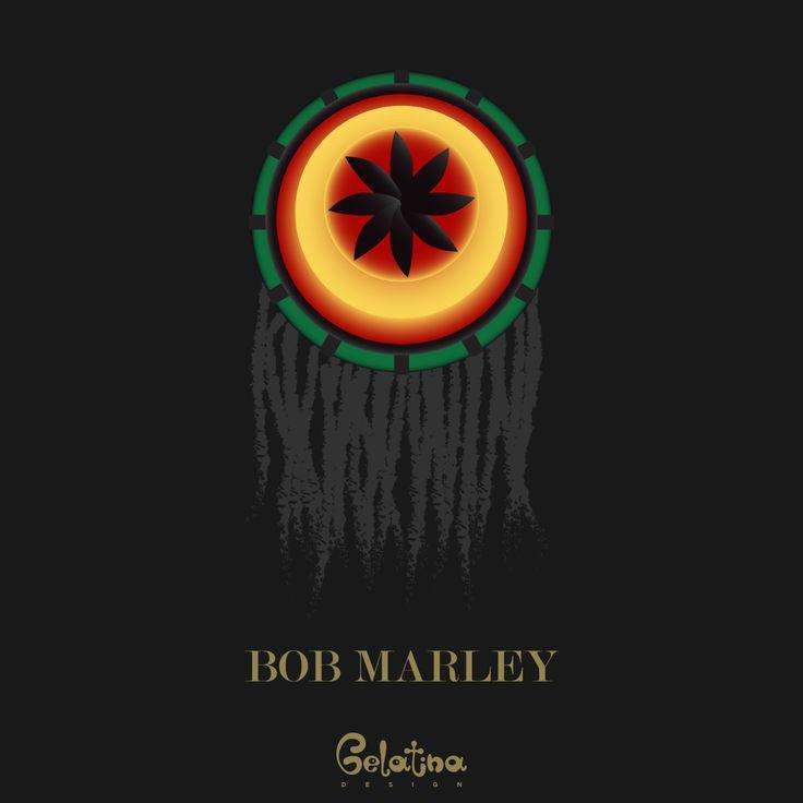 Bob Marley – Grafica  6 febbraio 1945 – Nasceva Robert Nesta Marley detto Bob. Attivista giamaicano, cantautore e chitarrista è ricordato per la sua lotta politica contro le discriminazioni razziali; per il suo contributo alla musica Reggae, Roots Reggae, Ska, Early Reaggae e Rocksteady. Every Day – GELATINA DESIGN