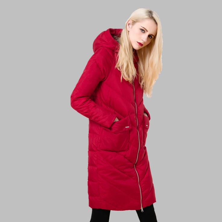 Cheap winter coats for kids, Buy Quality winter coat kids directly from China winter jacket coat Suppliers: Fashion 2016 new winter women's white down coat with a hood women down jacket long slim parka female casual outerwear h