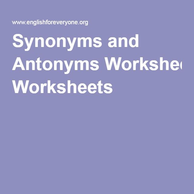 Nouns Verbs And Adjectives Worksheets Excel Best  English Antonyms Ideas On Pinterest  Synonyms And  Ten Commandments Worksheet Printable with Tlsbooks Worksheets Word Synonyms And Antonyms Worksheets Create Writing Worksheets Pdf