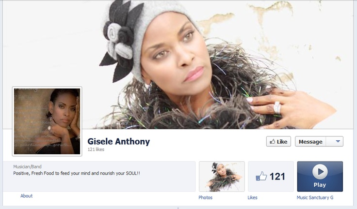 Gisele's Facebook Music Page