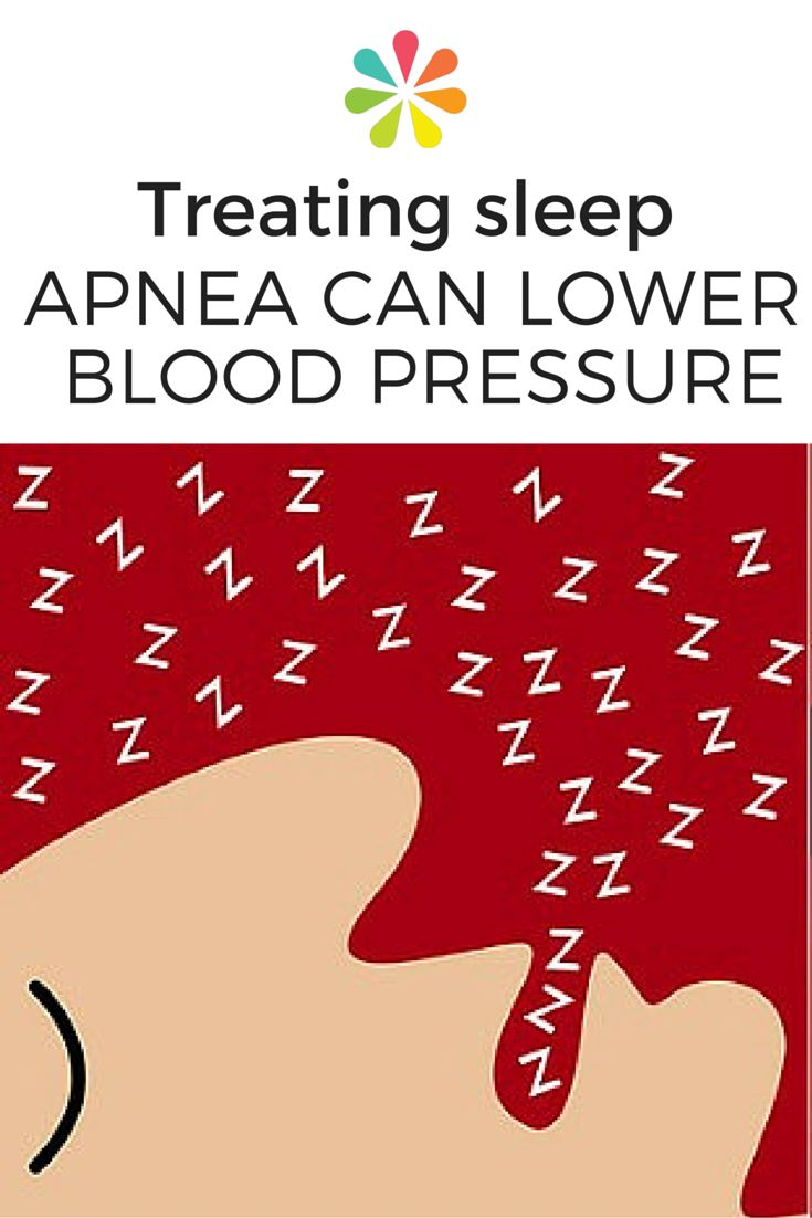 Two major forms of sleep apnea treatment can lead to improvements in patients' blood pressure. #bloodpressure #sleepapnea #sleeptreatment #everydayhealth | everydayhealth.com