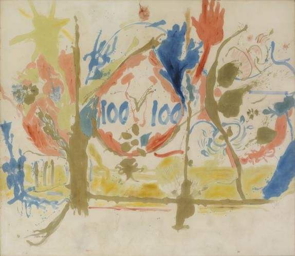 Helen Frankenthaler (1956) Eden. http://www.frankenthalerfoundation.org/artworks/paintings