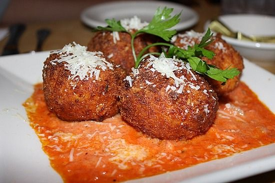Cheesecake Factory Delicious @Katie Vandell please mail me some!! Tasty Deep Fried Mac and Cheese Balls