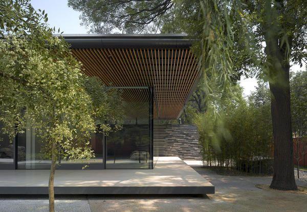 Minimalismo nordico e stile zen per l'ambasciatore olandese a Pechino - Elle Decor Italia