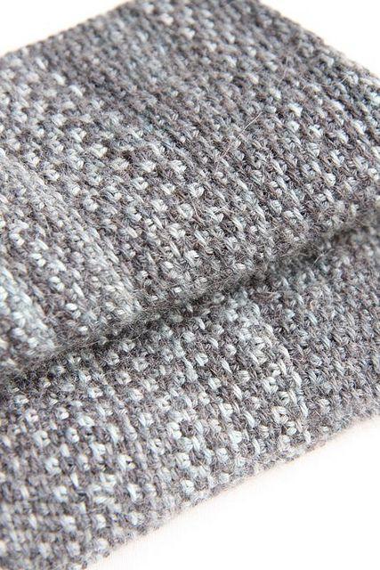 Linen stitch scarf by The Italian Dish, via Ravelry