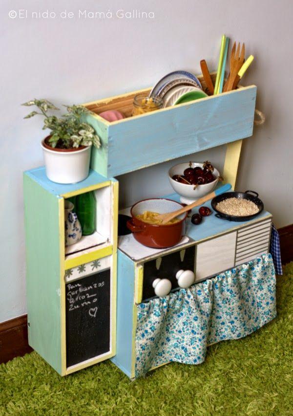 M s de 25 ideas incre bles sobre cocinas de juguete en for Como hacer una cocina de madera