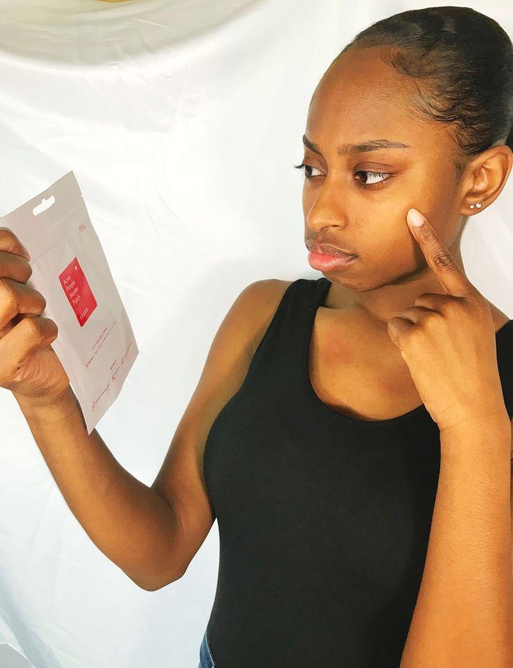 cosrx pimple patch blood
