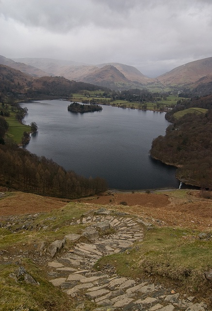 Grasmere from Loughrigg Fell by Nick Landells, via Flickr