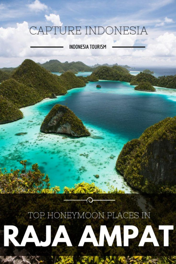 Raja Ampat is one of the best honeymoon destinations in Indonesia. This place are favorites by many couples that want to celebrate their honeymoon in Indonesia.  Raja Ampat located in West Papua and has amazing scenery. Visit this area when you are in Indonesia.  #rajaampat #indonesia #honeymoon #indonesiatourism #captureindonesia