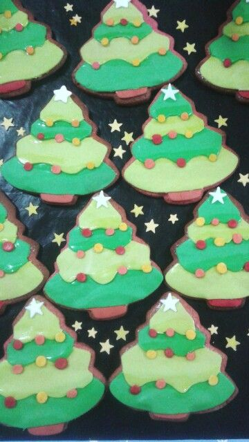 galletas árboles navideños /cookies christmas