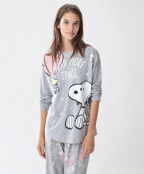 Camiseta manga larga snoopy