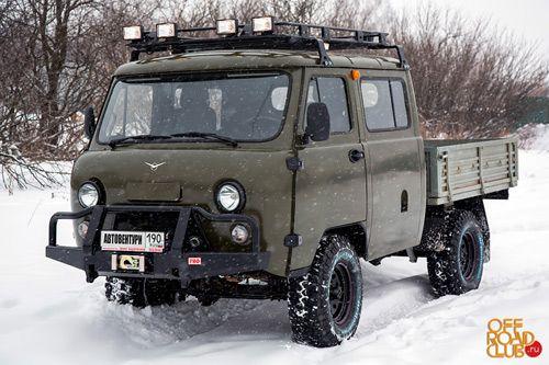 УАЗ 39094 Фермер 2013, Автовентури