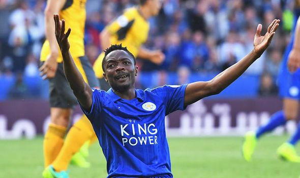 Leicester ace: I'm an Arsenal fan but Nwankwo Kanu told me to join the Foxes   via Arsenal FC - Latest news gossip and videos http://ift.tt/2dRmsf3  Arsenal FC - Latest news gossip and videos IFTTT