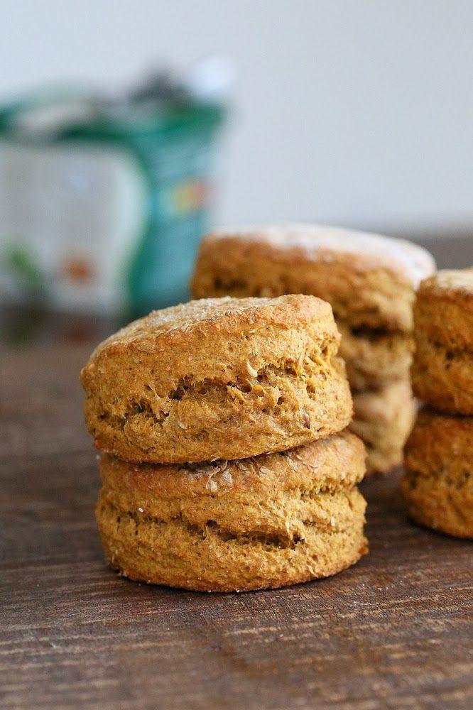 Spelt Sweet Potato Biscuits. Vegan Recipe | Vegan Richa