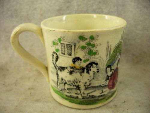 Antique-Staffordshire-Pearlware-Childs-Cup