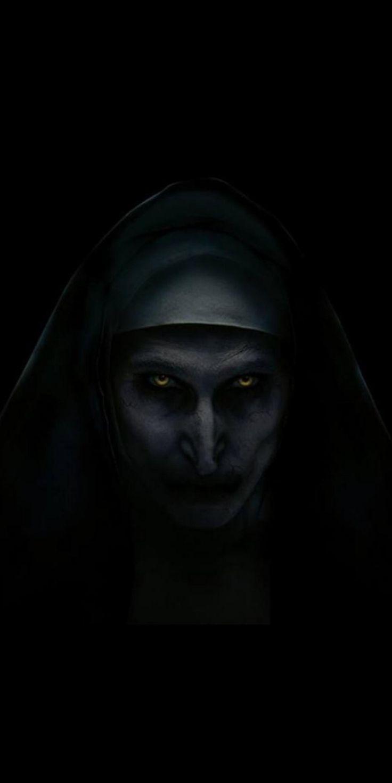 Nun Movie Horror iPhone Wallpaper Scary wallpaper