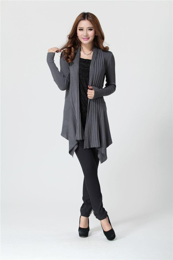 2013 Winter Fashion Irregular Hem Plus Size Sweater
