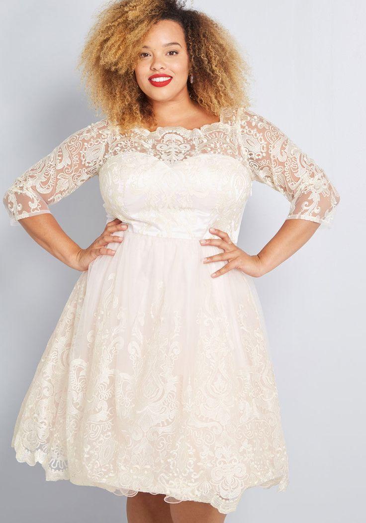 Gilded Grace Lace Dress In 2020 Short Wedding Dress Wedding Dress Long Sleeve Wedding Dresses Plus Size