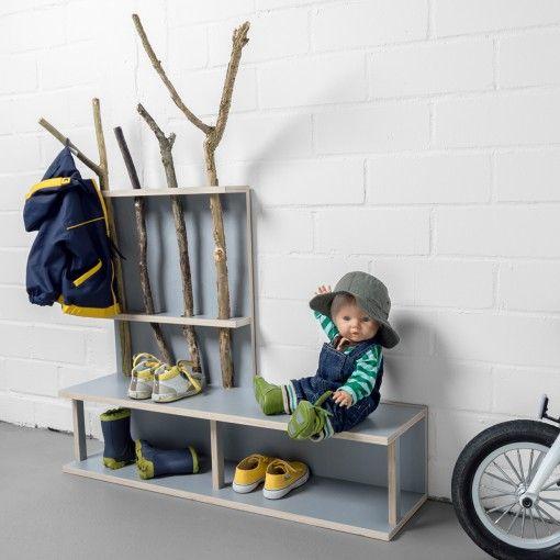 ber ideen zu garderobe mit sitzbank auf pinterest truhenbank sitzbank und truhe. Black Bedroom Furniture Sets. Home Design Ideas