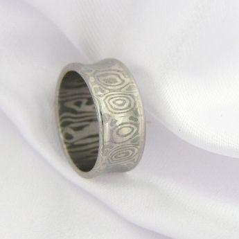 Saruwan ~ damasteel šperky a prsteny Cubick