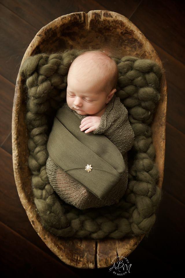 Newborn military setup