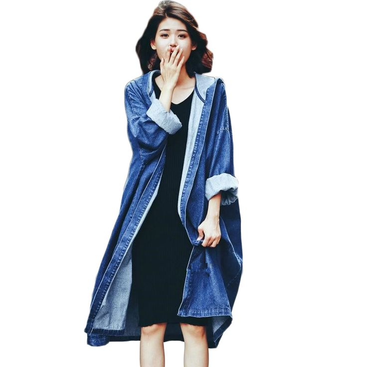 Jean Trench Promotion-Shop for Promotional Jean Trench on ...